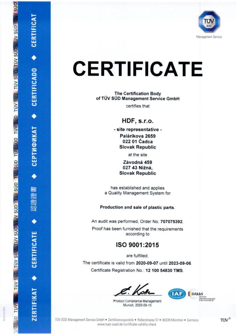HDF ISO 9001.2015, 6.9.2023, 1210054830TMS EN